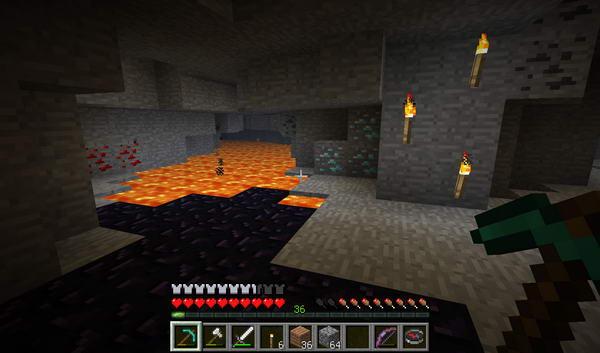 Minecraft. Начало игры. Пещеры